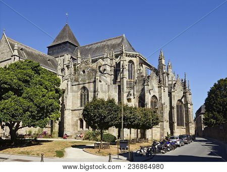 St Malo Church In Dinan Is One Of The Finest Examples Of Gothic Flamboyant Architecture