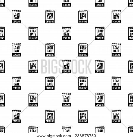 Deadline Pattern Vector Seamless Repeating For Any Web Design