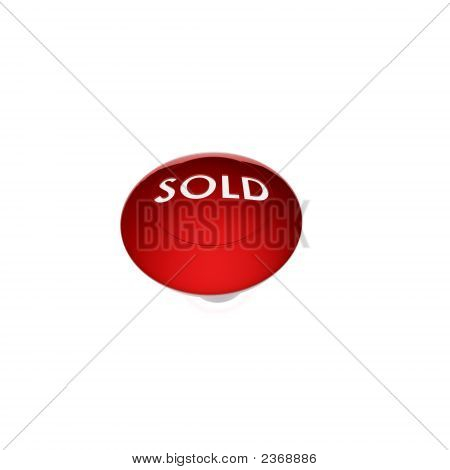 Sold Button Red