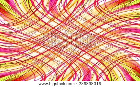 abstract stripes and lines on a white background