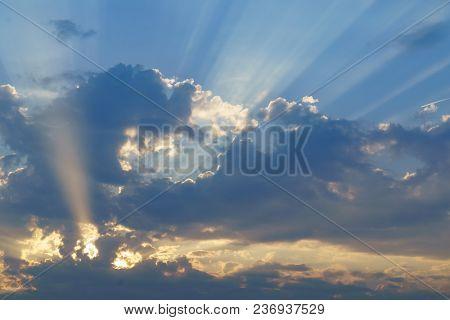 sunrise sky background