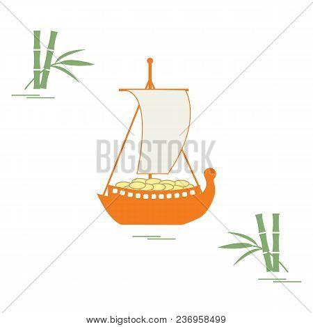 Japanese Treasure Ship - Traditional Talismans And