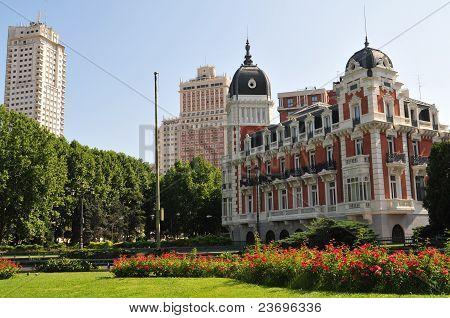 Madrid - Plaza Espana