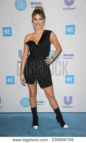 Lele Pons at the 2018 WE Day California held at the Forum in Inglewood, USA on April 19, 2018.