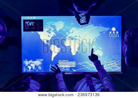 Futuristic global business