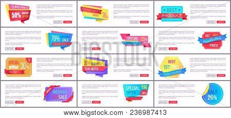 Super Price Best Offer Premium Quality Discount Super Product Hot Weekend Sale This Weekend Set Of P