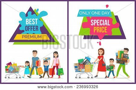 Best Offer Premium, Only One Day Special Price, Collection Of Images With Family, Shown In Process O