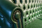 Chester style leather background for furniture sofa milk color with. English ivory genuine leather upholstery for elite loft interior poster