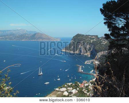 Capri Bay Southern Italy