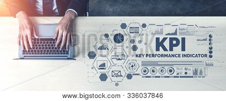 Kpi Key Performance Indicator For Business Concept