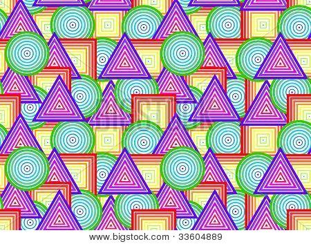 Geometrical figures - seamless