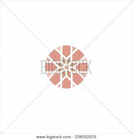 Abstract Ornament Logo Pattern Design Vector Stock