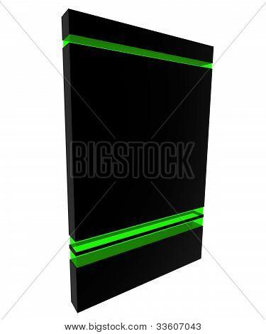 Software Box Black-green