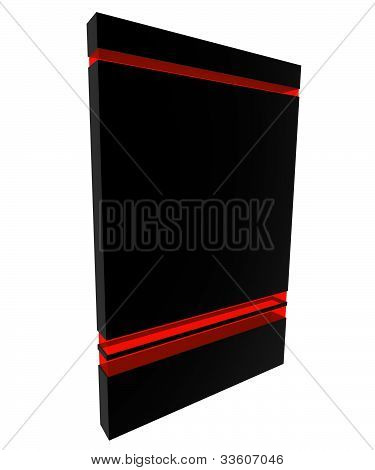 Software Box Black-red