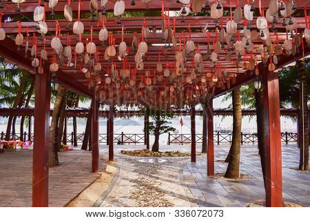 wind music, Chinese wind chimes, Feng Shui poster
