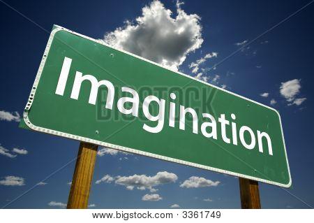 Imagination Road Sign