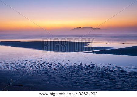 Tranquil Scenic Sunrise
