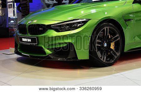Sofia, Bulgaria, October 13-2017: Bmw M4 At Sofia Motor Show