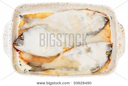 Fish Baked In Sea Salt