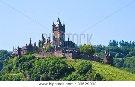 Cochem Imperial Castle, Germany