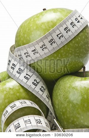 Diet With Apples.