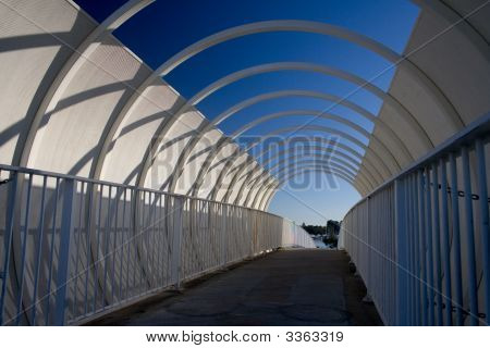 Enclosed Walkway Overpass