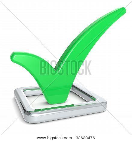Green Check Mark.