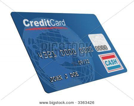 Karta kredytowa na biały