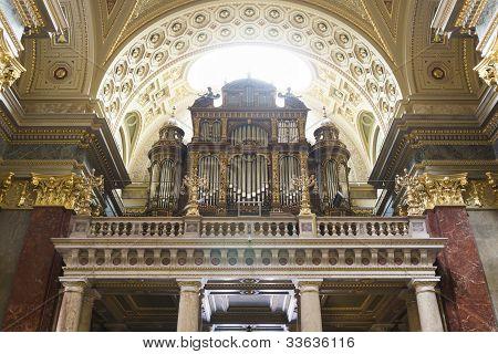 St. Stephen's Basilica, Pipe Organ