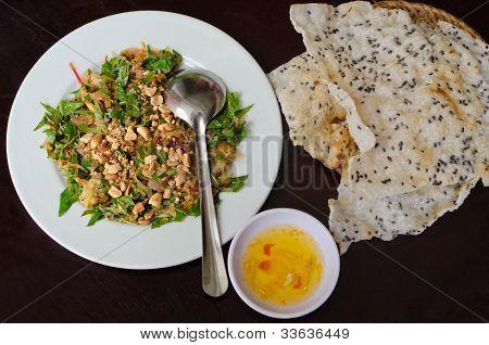 Vietnamese Shredded Pork Salad