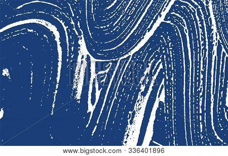 Grunge Texture. Distress Indigo Rough Trace. Exceptional Background. Noise Dirty Grunge Texture. Uni