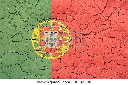 Cracking Portuguese Flag