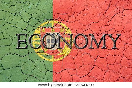 Economy Portuguese Flag