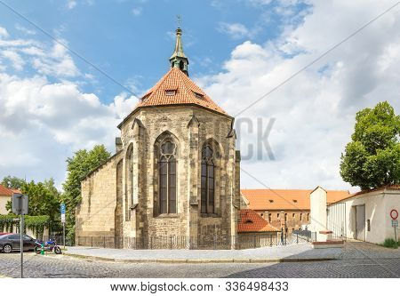 Convent Of Saint Agnes Of Bohemia. Prague, Czech Republic.