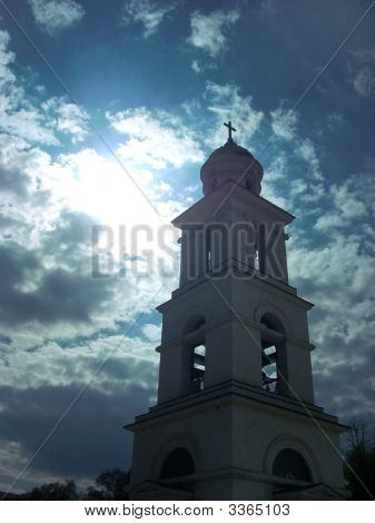 Bell Tower And Sky