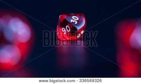 Set Of Polyhedra Dice For Role Paying Games