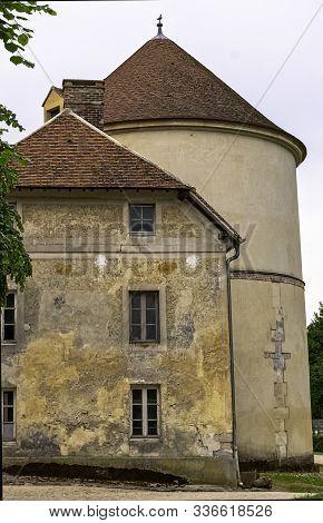 Coupvray, Seine-et-marne, Ile-de-france, France - May 25: Coupvray Castle (chateau De Coupvray) - Si