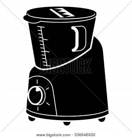 Kitchen Cooker Icon. Simple Illustration Of Kitchen Cooker Vector Icon For Web Design Isolated On Wh