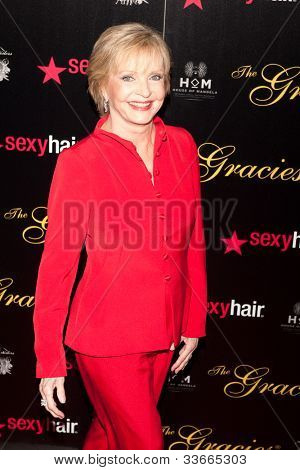 BEVERLY HILLS, CA - MAY 21: Florence Henderson arives at the Gracie Awards Gala on May 21, 2012 at the Beverly Hilton Hotel in Beverly Hills, California.