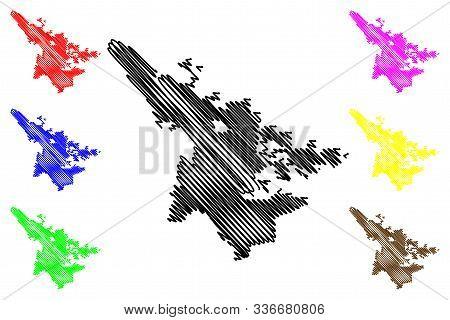 San Bernardino City (united States Cities, United States Of America, Usa City) Map Vector Illustrati
