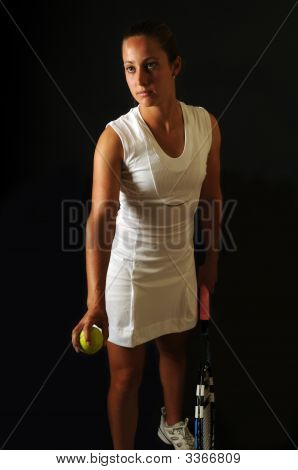 Young Tennis Pro