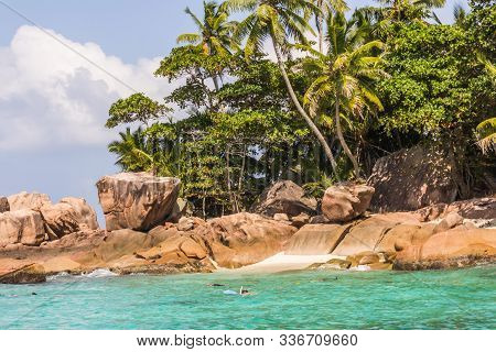 The Big Rocks And In The Indian Ocean