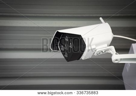 Cctv Ip Camera Wireless Of Security Outdoor With Waterproof System Of Buildings And Houses.