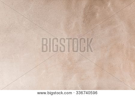 Rustic Plastered Wall. Clay Wall Texture Background