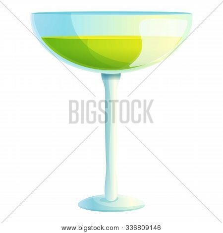 Tonic Cocktail Icon. Cartoon Of Tonic Cocktail Vector Icon For Web Design Isolated On White Backgrou