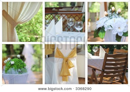 Collage de catering