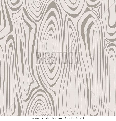 Vector Abstract Wood Grain Design In Brown Taupe Seamless Repeat Pattern. Background For Textiles, C