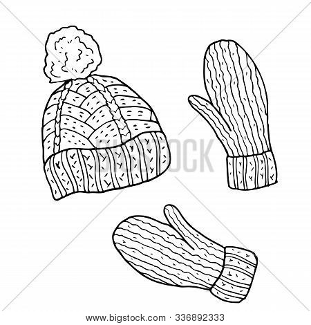 Free Winter Scarf Coloring Pages, Download Free Clip Art, Free ... | 470x450
