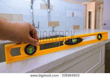 Installing With Granite Countertops Renovation Granite Kitchen Interior Cabinet