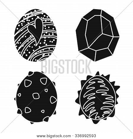Vector Design Of Fantastic And Cute Icon. Set Of Fantastic And Magic Stock Symbol For Web.